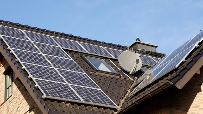 listrik tenaga surya- Tenaga surya untuk rumah